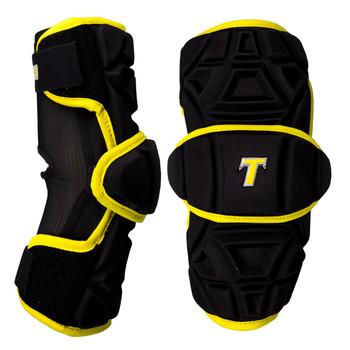 Tron LX Tron Pro Adult Lacrosse Armguards - Black, Gold