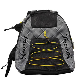 Tron LX Tron Pro X Lacrosse Equipment Bag - Black, Grey, Gold