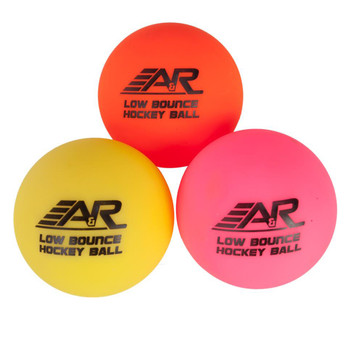 A&R Low Bounce Multi-Weather Hockey Balls - 3 Pack