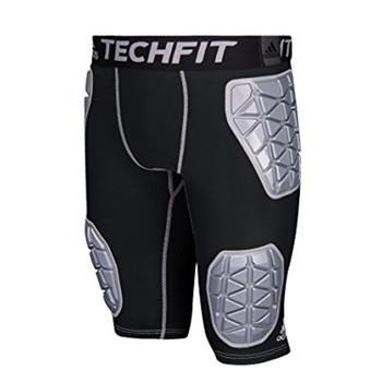 Adidas Techfit Ironskin 5 Pad Men's Football Girdle - Black