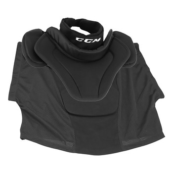 CCM BNQ Hockey Goalie Throat Collar - Black