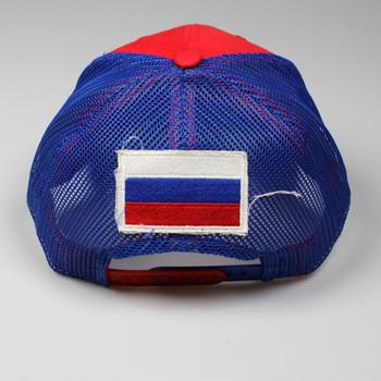 CCM Adjustable Trucker Flag Hat - Russia