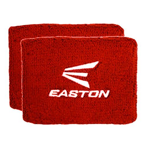 """Easton 4"""" Wrist Band - Red / White"""