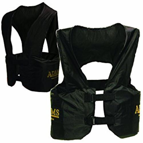Adams Blocking Rib Vest Youth - Black