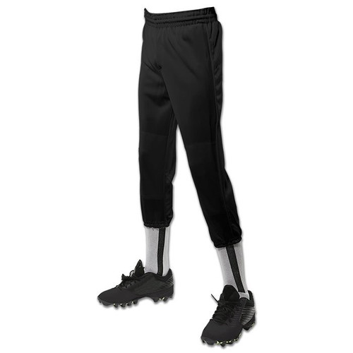 Champro Youth Performance Pull-Up Baseball Pants - Black