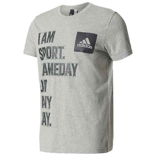 Adidas I AM SPORT Men's Tee Shirt - Grey