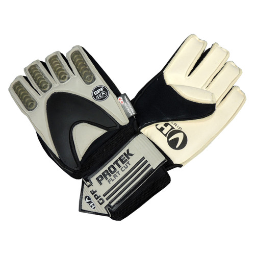 Ho Soccer Keeper Protek Negative Football Goalie Gloves - Black/Grey