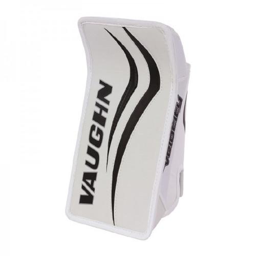Vaughn V7 B XF Youth Hockey Goalie Blocker Glove - White/Black