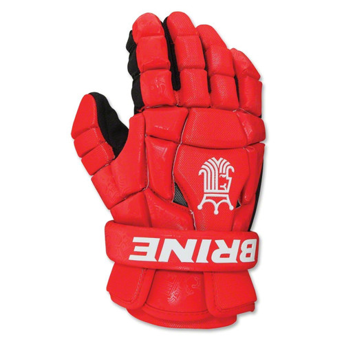 Brine King Superlight 2 Lacrosse Gloves - Red
