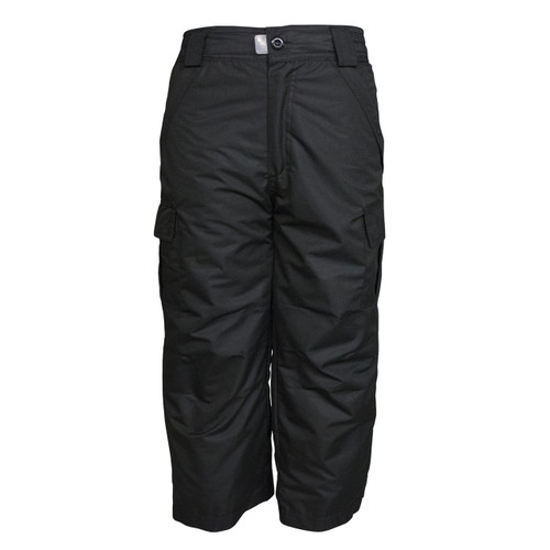 Pulse Junior Youth Cargo Snowboard Pant - Black