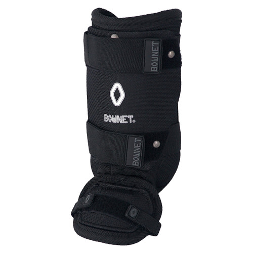 Bownet Adult Baseball / Softball Ankle Guard - Black