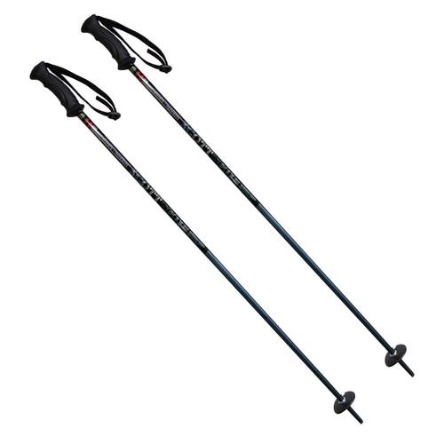 Scott Aspen Snowmass Alpine Junior Ski Poles - Black