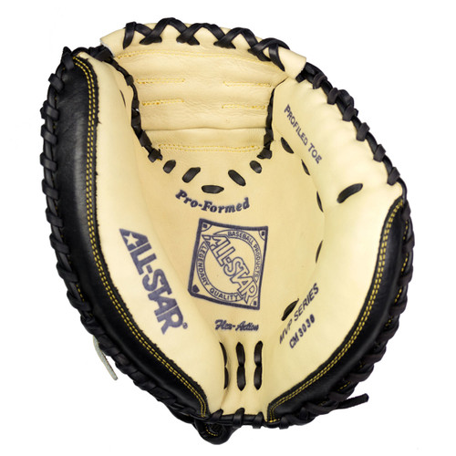 "AllStar Adult Comp 33.5"" Baseball Catchers Mitt - RH Throw"