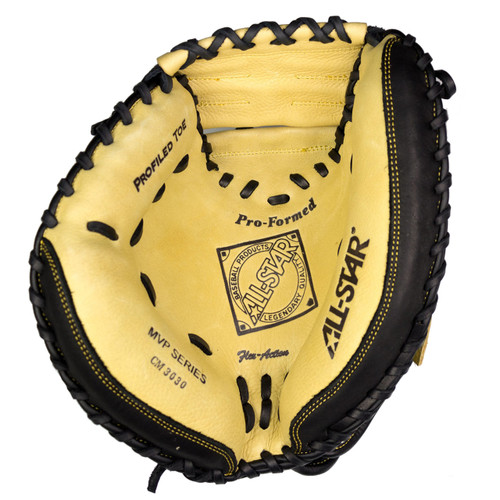 "AllStar Adult Comp 33.5"" Baseball Catchers Mitt - LH Throw"