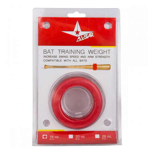 AllStar Baseball Bat Weight - 16oz