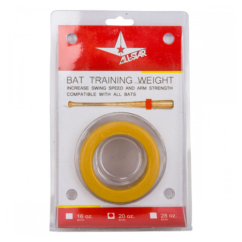 AllStar Baseball Bat Weight - 20oz