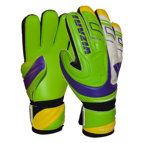 Vizari Modena Club Soccer Goalkeeper Gloves - Green, White, Purple