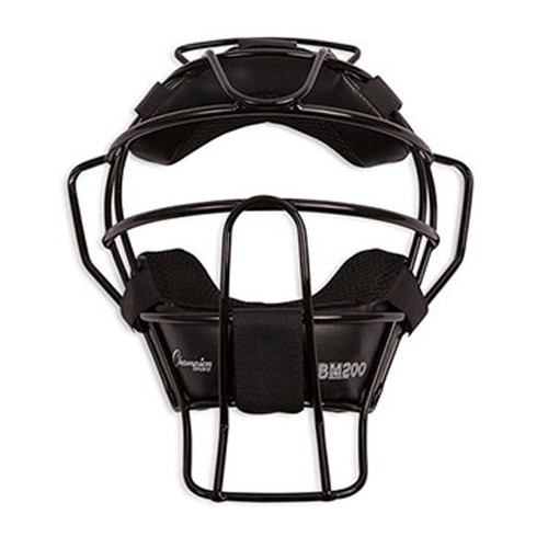 Champion Ultra Light Adult Umpire Mask - Black