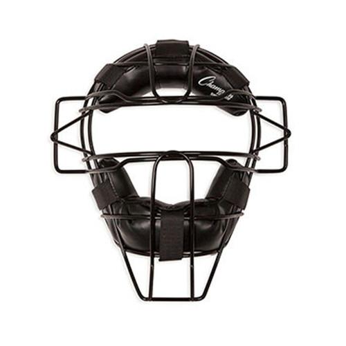 Champion Adult Umpire Mask - Black