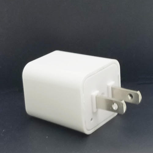 IPhone Wall AC USB Charger Hidden Spy Nanny Cover Full HD