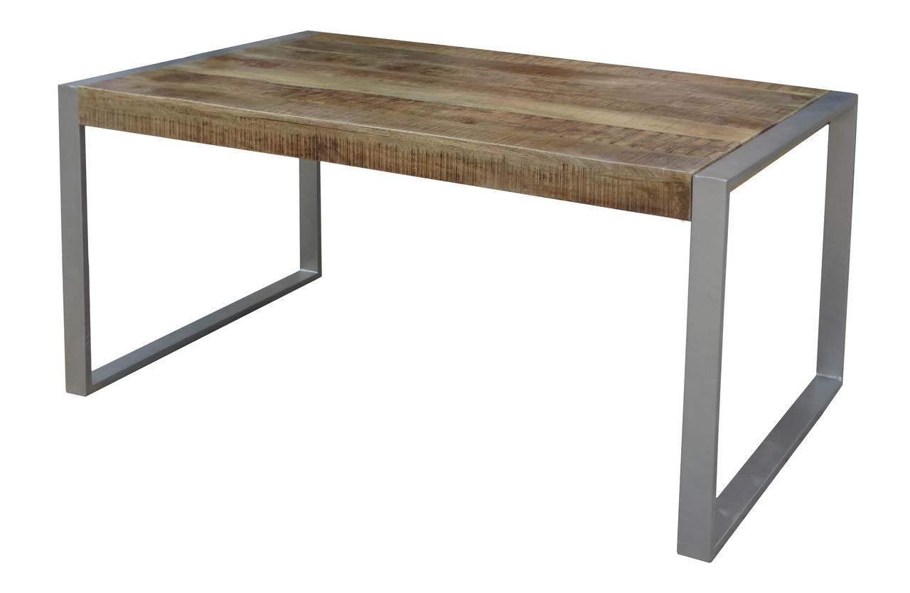Reclaimed Wood Dining Table With Silver Metal Legs Timbergirl - Cheap reclaimed wood dining table