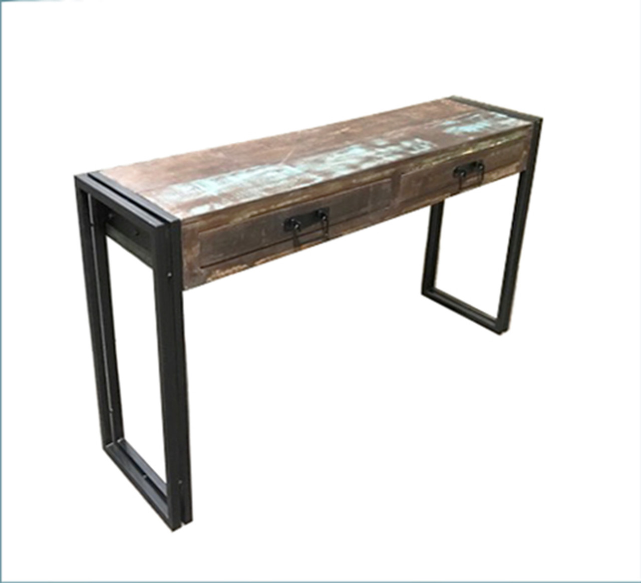 Timbergirl old reclaimed wood console table with metal legs timbergirl timbergirl old reclaimed wood console table with metal legs watchthetrailerfo