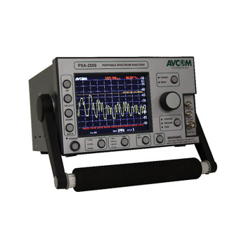 PSA-2500-CKUTX Portable Spectrum Analyzer 5-2500 MHz, 5.5-6.5, & 13.75-14.5 GHz