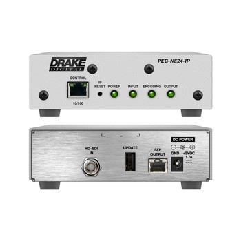 PEG-NE24-IP HDTV Encoder with IP Output