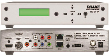 ND-24-IP Network Decoder with HD-SDI, HDMI and Component Outputs