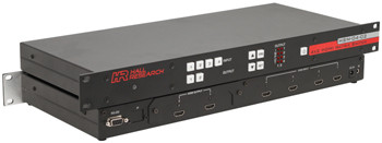 4x2 HDMI Matrix Switch with RS232 and IP Control