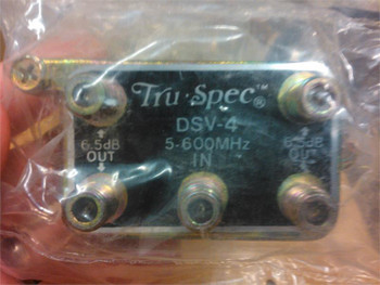 DS75-4 Splitter, 4 Way 5-600MHz