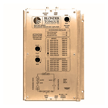 BIDA 86A-43 Broadband Indoor Distribution Amplifier