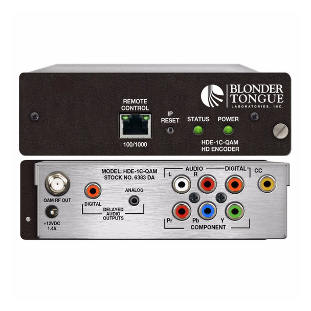 HDE-1C-QAM Single Channel HDTV Encoder