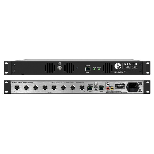 HDE-8C-IP DIN (OPT 2) - MPEG-2 IP HD Encoder with DIN Cables & DIRECTV Control