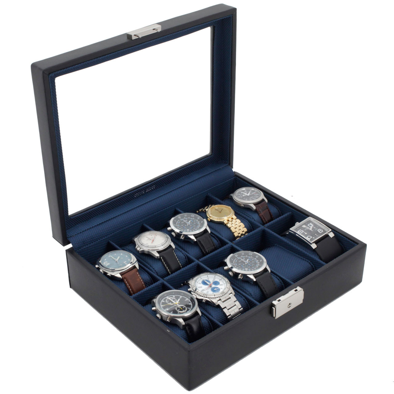 Modern Mens Watch Box Mens Luxury Storage Gifts TechSwiss Watch