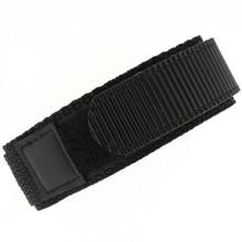 Black Velcro Watch Band | TechSwiss Black Velcro Watch Strap | VEL100BLK | Strap
