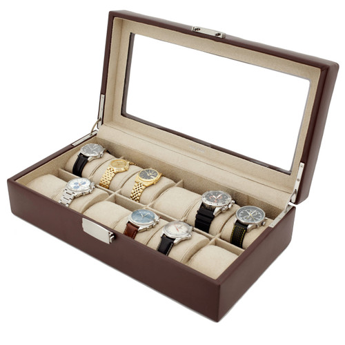 Large Watch Boxes for watch box collectors and enthusiasts Tech Swiss