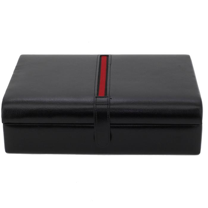 Livorno Black Striped Valet Case
