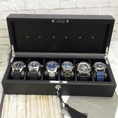 Solar Watch Charging Station Tech Swiss For Seiko