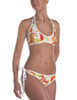 Colorful Galloping Horses Equestrian Swim Suit