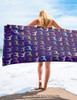Fun Horse Lover Beach Towel