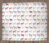 Colorful Horse fleece blanket