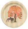Fall Thanksgiving Horse Lover Paper Party Plates