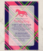 Horse Birthday Party Invites