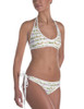 Horse Jumps Pattern Equestrian Swim Suit