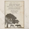 Rustic Horse Farm Wedding Invitation (10pk)