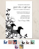 Galloping horse invite