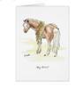 Whimsical Horse Birthday Card