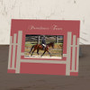 Choose from yellow or red frame colors and add you farm or horse's name at the top for an extra $2.