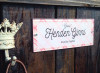 Pink Preppy Plaid Custom Acrylic Horse Stall Name Plate